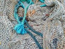 Fischernetz von Heike Loos