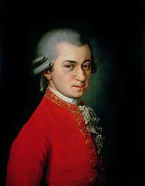 Wolfgang Amadeus Mozart by Barbara Krafft
