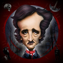 Edgar Allan Poe by William Rossin