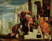 The Flight of the Israelites out of Egypt  von Benedetto Caliari