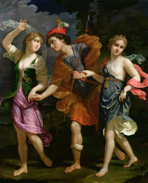Theseus with Ariadne and Phaedra by Benedetto the Younger Gennari