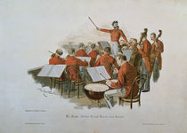The Johann Strauss Orchestra at a Court Ball  by Theodore Zasche