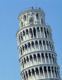 View of the Leaning Tower  by Bonannus of Pisa