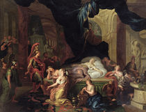 The Death of Cleopatra  by the Younger Ottmar Elliger