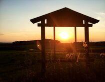 Sonnenuntergang im Naturpark Oberpfälzer Wald von Xenia Wilk