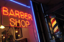 Barber Shop  by Julian Raphael Prante