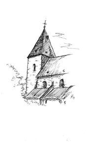Kirche in Adorf/Diemelsee von Kai Rohde