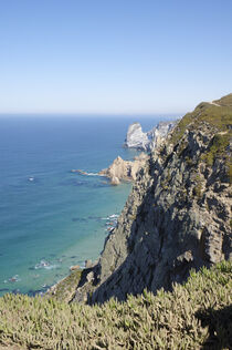'Cabo da Roca, der westlichste Punkt des europäischen Festlandes.' von Berthold Werner