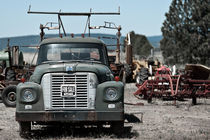 Car for sale, Highway 97 South, Oregon by Stephan Schwaabe