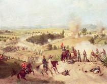 The Battle of Molino del Rey by C. Escalante