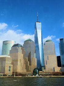 One World Trade Center in New York City by Mellieha Zacharias