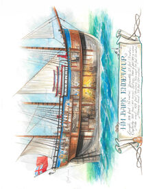 HMB Endeavour von Jonathan Petry