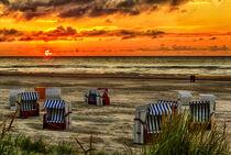 Sonnenuntergang auf Juist by Dirk Rüter