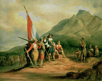 The Landing of Jan van Riebeeck  by Charles Bell