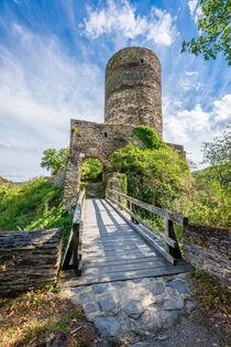 Burg Stahlberg 33 by Erhard Hess