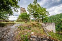 Burg Stahlberg 73 von Erhard Hess
