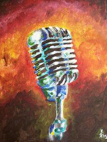 das Mikrophon von Kai Rohde