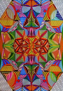 Energiebild red Eyes von Wolfgang Johann Suhadolnik