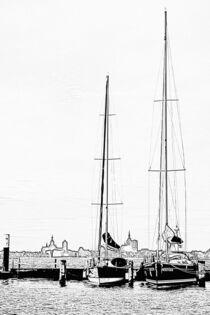 Blick auf Stralsund von René Lang
