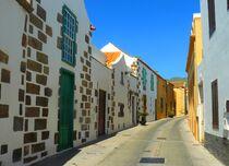 Malerische Gasse auf Gran Canaria by gscheffbuch