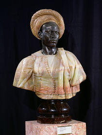 Bust of a Sudanese Man by Charles-Henri-Joseph Cordier