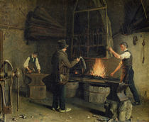 Interior of the Forge by Rosine Parran