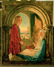 Annunciation by Charlotte E. Babb