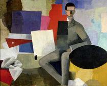 The Seated Man von Roger de La Fresnaye