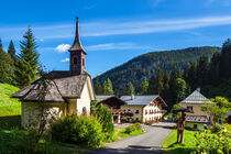 Der Hirschbichl im Berchtesgadener Land von Rico Ködder