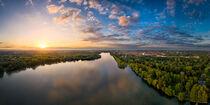 Sunset in Hannover von Michael Abid