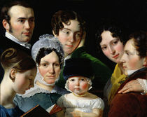 The Dubufe Family in 1820  von Claude-Marie Dubufe