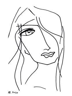 Frauenportrait-reprint