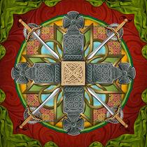 Mandala Celtic Glory von Peter  Awax