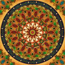 Mandala Rebirth von Peter  Awax