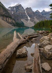 Moraine Lake im Banff Nationalpark, Kanada von alfotokunst