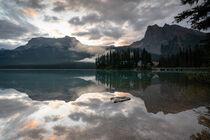 Emerald Lake, Yoho Nationalpark, Kanada by alfotokunst