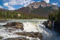 Athabasca Falls, Jasper Nationalpark, Kanada by alfotokunst