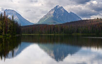 Jasper Nationalpark, Kanada by alfotokunst