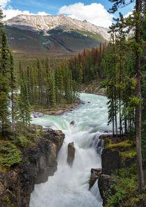 Sunwapta Falls, Jasper Nationalpark, Kanada by alfotokunst