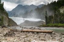 Wapta Falls, Yoho Nationalpark, Kanada by alfotokunst