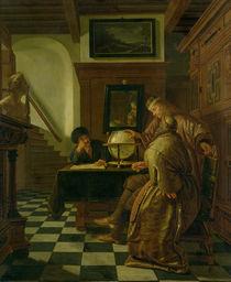Geographers at Work  by Cornelis de Man