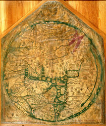 Mappa Mundi by Richard of Haldingham