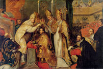 The Coronation of Charles V  by Cornelius I Schut