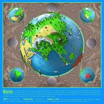 Earth Celebration - Asia von Thomas Demuth