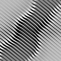 Verdrehte Metallstreifen von dresdner