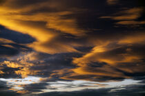 Dramatic stratocumulus clouds at sunset by Jim Corwin