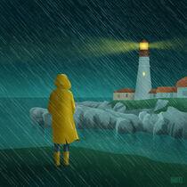Lighthouse in Portland by Radik Mukhamadullin