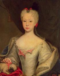 Maria Barbara de Braganza  by Domenico Dupra
