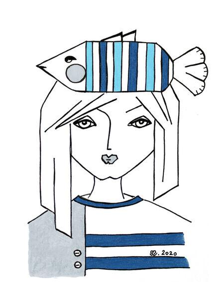 Fischfrau-reprint