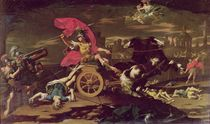 Achilles Dragging the Body of Hector around the Walls of Troy  von Donato Creti